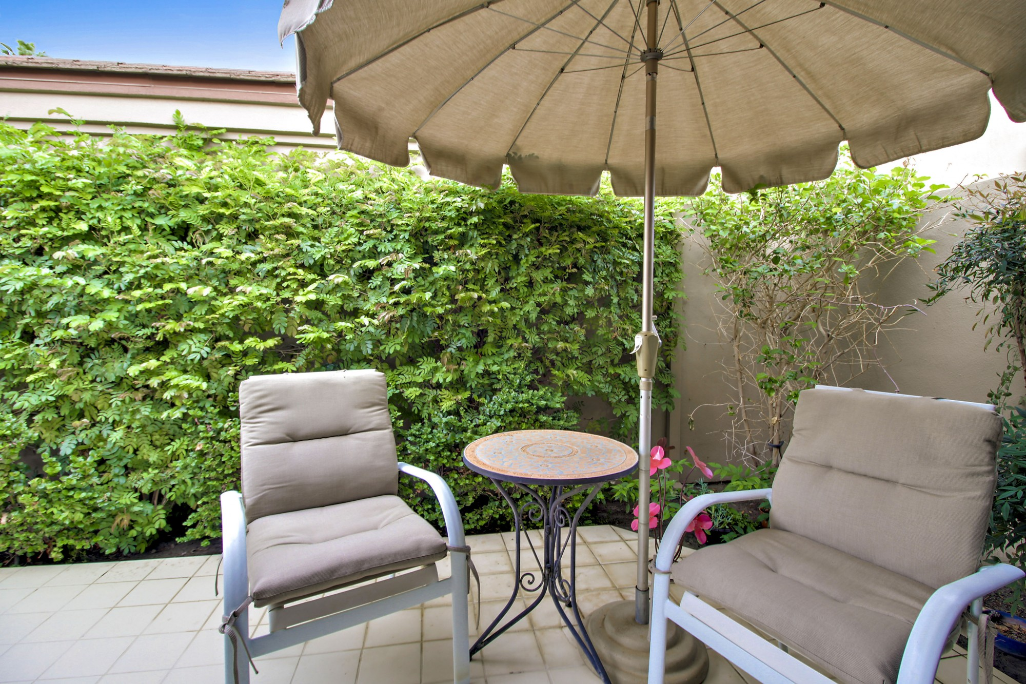 Private Courtyard Patio off master suite